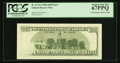 Error Notes:Inking Errors, Fr. 2175-J $100 1996 Federal Reserve Note. PCGS Superb Gem New67PPQ.. ...
