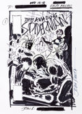 Original Comic Art:Miscellaneous, John Romita Sr. Amazing Spider-Man Preliminary CoverOriginal Art (undated)....