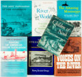 Books:Americana & American History, Group of Seven Nonfiction Books about the Steamboats and theMississippi River. Various publishers and dates. Six are first ...(Total: 7 Items)
