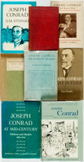 Books:Biography & Memoir, [Joseph Conrad, subject]. Group of Eight Books about Joseph Conrad.Various publishers and dates. Publishers' bindings. Very... (Total:8 Items)