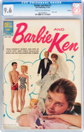 Silver Age (1956-1969):Romance, Barbie and Ken #1 File Copy (Dell, 1962) CGC NM+ 9.6 Cream to off-white pages....