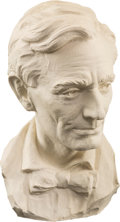 Political:3D & Other Display (1896-present), Abraham Lincoln: Plaster Bust by Avard Fairbanks....