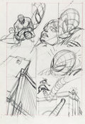 """Original Comic Art:Miscellaneous, Gil Kane Amazing Spider-Man #121 """"The Night Gwen Stacy Died""""Page 19 Preliminary Original Art (Marvel, 1973)...."""