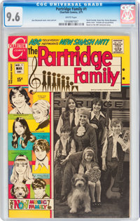 Partridge Family #1 (Charlton, 1971) CGC NM+ 9.6 White pages