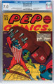 Pep Comics #22 (MLJ, 1941) CGC FN/VF 7.0 Off-white to white pages