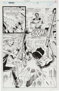 Original Comic Art:Splash Pages, Punisher Splash Page 15 Original Art (Marvel, c. 1990s)....