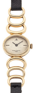 Timepieces:Wristwatch, Baume & Mercier 14k Gold Lady's Wristwatch. ...