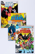 Modern Age (1980-Present):Superhero, New Teen Titans Short Box Group (DC, 1980s-90s) Condition: AverageVF/NM....