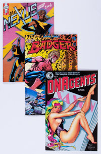 Modern Age Independent Comic Titles Long Box Group (Various Publishers, 1980s-2000s)