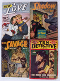 Pulps:Miscellaneous, Assorted Pulps Box Lot (Various, 1934-54) Condition: Average FR....