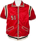 Basketball Collectibles:Uniforms, 1950's Phillips 66ers Game Worn Warmup Suit. ...