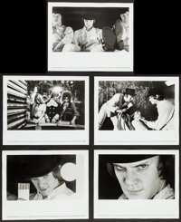 """A Clockwork Orange (Warner Brothers, 1971). Photos (10) (8"""" X 10""""). Science Fiction. ... (Total: 10 Items)"""