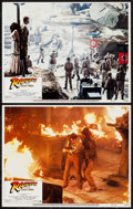 """Movie Posters:Adventure, Raiders of the Lost Ark (Paramount, 1981). Lobby Cards (2), LobbyCard Sets of 8 (2) (11"""" X 14""""), & Spanish One Sheet (27"""" X...(Total: 19 Items)"""