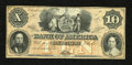 Obsoletes By State:Tennessee, Clarksville, TN- Bank of America $10 18__. This is a scarce remainder. Choice Crisp Uncirculated....