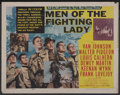 "Movie Posters:War, Men of the Fighting Lady (MGM, 1954). Half Sheet (22"" X 28""). War...."