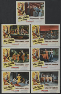 "Three for the Show (Columbia, 1954). Lobby Cards (7) (11"" X 14""). Musical. ... (Total: 7 Item Items)"