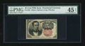 Fractional Currency:Fifth Issue, Fr. 1265 10c Fifth Issue PMG Extremely Fine 45 EPQ....