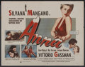 "Movie Posters:Romance, Anna (IFE Releasing, 1953). Half Sheet (22"" X 28""). Romance. ..."