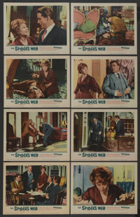 "The Spider's Web (United Artists, 1961). Lobby Card Set of 8 (11"" X 14""). Mystery. ... (Total: 8 Items)"