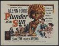 "Movie Posters:Adventure, Plunder of the Sun (Warner Brothers, 1953). Half Sheet (22"" X 28"").Adventure...."