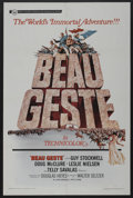 "Movie Posters:Adventure, Beau Geste (Universal, 1966). One Sheet (27"" X 41""). Adventure. ..."