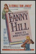 "Movie Posters:Bad Girl, Fanny Hill (Famous Players Corp., 1965). One Sheet (27"" X 41""). BadGirl. ..."