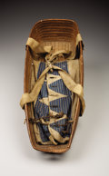 American Indian Art:Baskets, A SALISH COILED BASKETRY CRADLE. c. 1900...