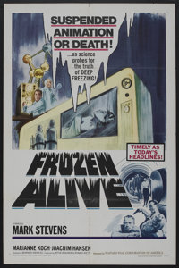 """Frozen Alive (Feature Film Corporation of America, 1964). One Sheet (27"""" X 41""""). Science Fiction"""