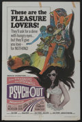 "Movie Posters:Cult Classic, Psych-Out (American International, 1968). One Sheet (27"" X 41"").Cult Classic. ..."
