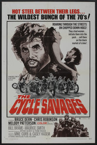 "The Cycle Savages (Trans American, 1970). One Sheet (27"" X 41""). Action"