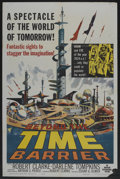 "Movie Posters:Science Fiction, Beyond the Time Barrier (American International, 1959). One Sheet (27"" X 41""). Science Fiction...."