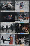 """Movie Posters:Action, Superman II (Warner Brothers, 1980). Lobby Card Set of 8 (11"""" X14""""). Action. ... (Total: 8 Items)"""