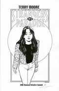 Original Comic Art:Miscellaneous, Terry Moore - Strangers in Paradise Print #499/500 (2006)....