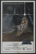 "Movie Posters:Science Fiction, Star Wars (20th Century Fox, 1977). One Sheet (27"" X 41"") Style A.Science Fiction. ..."