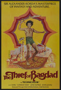 "Movie Posters:Fantasy, The Thief of Bagdad (Kino International, R-1978). One Sheet (27"" X41""). Fantasy. ..."