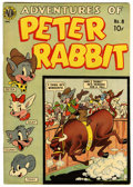 "Golden Age (1938-1955):Funny Animal, Peter Rabbit Comics #8 Davis Crippen (""D"" Copy) pedigree (Avon,1950) Condition: FN/VF...."