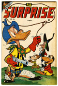 "Golden Age (1938-1955):Funny Animal, All Surprise #12 Davis Crippen (""D"" Copy) pedigree (Timely, 1946)Condition: FN+...."
