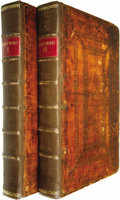 Books:Non-American Editions, John Locke: The Works of John Locke Esq, Volume I and III ofa Three Volume Set.... (Total: 2 Items)