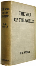 Books:First Editions, H. G. Wells First Edition: War of the Worlds....