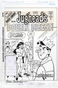 Original Comic Art:Covers, Dan DeCarlo and Henry Scarpelli - Jughead's Double Digest #65 CoverOriginal Art (Archie, 1999)....