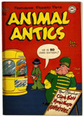 "Golden Age (1938-1955):Funny Animal, Animal Antics #6 Davis Crippen (""D"" Copy) pedigree (DC, 1947)Condition: VF...."