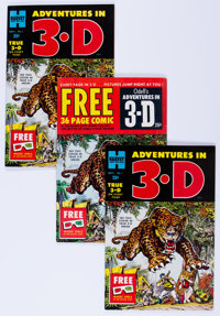 Adventures in 3-D Group (Harvey, 1953).... (Total: 20 Comic Books)