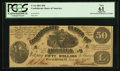 Confederate Notes:1861 Issues, T14 $50 1861 PF-4 Cr. 65.. ...