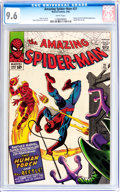 Silver Age (1956-1969):Superhero, The Amazing Spider-Man #21 (Marvel, 1965) CGC NM+ 9.6 Whitepages....