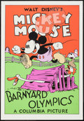 "Movie Posters:Animation, Barnyard Olympics (Circle Fine Art, R-1980s). Fine Art Serigraph (21"" X 30.75""). Animation.. ..."