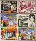 "Movie Posters:Academy Award Winners, Gone with the Wind & Others Lot (MGM, R-1968). Mexican LobbyCards (12) (approx. 12.75"" X 16.5""). Academy Award Winners.. ...(Total: 12 Items)"