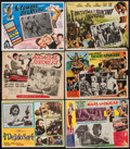 "Movie Posters:Rock and Roll, Let It Be & Others Lot (United Artists, 1970). Mexican LobbyCards (6) (approx. 12.75"" X 16.5""). Rock and Roll.. ... (Total: 6Items)"