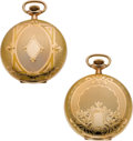 Timepieces:Pocket (post 1900), Two Mint Elgin 12 Size Hunters Cases, circa 1920's. ... (Total: 2 Items)