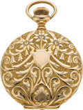 Timepieces:Pocket (post 1900), Waltham Choice Gold O Size Riverside Maximus, circa 1901. ...