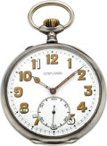 Timepieces:Pocket (post 1900), Ulysse Nardin, IWC Silver Corps Of Engineers Pocket Watch. ...